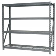 Sealey Heavy-Duty Racking Unit with 4 Mesh Shelves 800kg Capacity Per Level Model No-AP6572