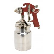Sealey HVLP Suction Feed Spray Gun 1.7mm Set-Up Model No-HVLP740