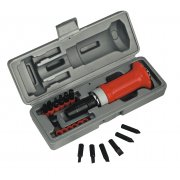 Sealey Impact Driver Set 15pc Protection Grip Model No-AK2081