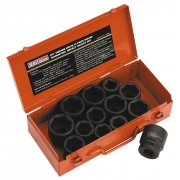 "Sealey Impact Socket Set 13pc 3/4""Sq Drive Metric/Imperial Model No-AK686"