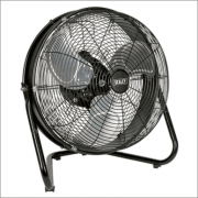 """Sealey Industrial High Velocity Floor Fan with Internal Oscillation 18"""" Model No-HVF18IS"""