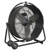 "Sealey Industrial High Velocity Orbital Drum Fan 24"" 230V Model No-HVF24S"