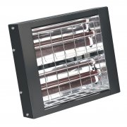Sealey Infrared Quartz Heater - Wall Mounting 3000W/230V Model No-IWMH3000