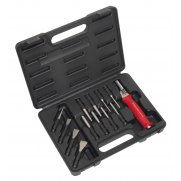 Sealey Interchangeable Punch & Chisel Set 13pc Model No-20385