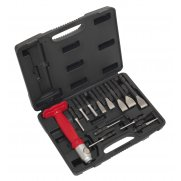 Sealey Interchangeable Punch & Chisel Set 13pc Model No-20386
