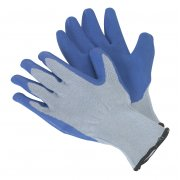 Sealey Latex Knitted Wrist Gloves - Large Model No-SSP48