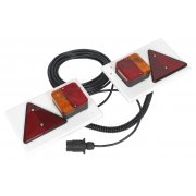 Sealey Lighting Board Set 2pc with 10mtr Cable 12V Plug Model No-TB0212