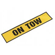 "Sealey Magnetic Sign ""ON TOW"" Model No-TB01T"