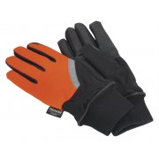 Sealey Mechanic's Gloves High Visibility PU Touch Thinsulate - Large Model No-MG797L