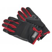 Sealey Mechanic's Gloves Light Palm Tactouch - X-Large Model No-MG798XL