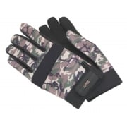 Sealey Mechanic's Gloves Padded Palm Camo - Large Model No- MG795L