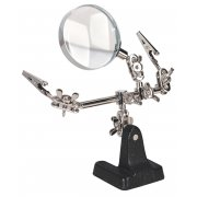 Sealey Mini Robot Soldering Stand with Magnifier Model No-SD150