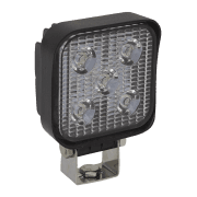 Sealey Mini Square Work Light with Mounting Bracket 15W LED Model No- LED2S