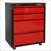 Sealey Modular 4 Drawer Cabinet with Worktop 665mm Model No-APMS84