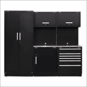 Sealey Modular Storage System Combo - Stainless Steel Worktop Model No-APMSCOMBO1SS