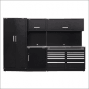 Sealey Modular Storage System Combo - Stainless Steel Worktop Model No-APMSCOMBO2SS