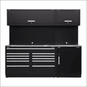 Sealey Modular Storage System Combo - Stainless Steel Worktop Model No-APMSCOMBO4SS