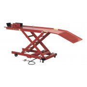 Sealey Motorcycle Lift 365kg Capacity Air/Hydraulic Model No-MC365A