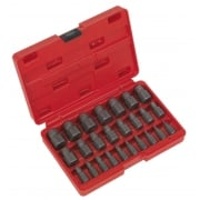 Multi Spline Screw Extractor Set 25pc Model No.-21991