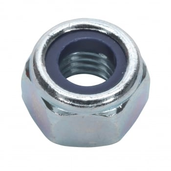 Sealey Nylon Lock Nut M10 Zinc DIN 982 Pack of 100 : Model No.NLN10