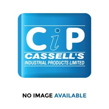 Sealey Nylon Lock Nut M6 Zinc DIN 982 Pack of 100 : Model No.NLN6