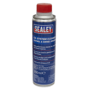 Sealey Oil System Cleaner 300ml - Petrol & Diesel Engines Model No.-OSCL300