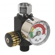 On-Gun Pressure Regulator/Gauge : Model No.AR01