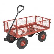 Sealey Platform Truck with Removable Sides Pneumatic Tyres 200kg Capacity Model No-CST997