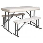 Sealey Portable Folding Table & Bench Set Model No-GL87