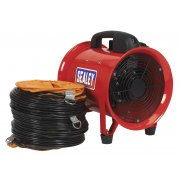 Sealey Portable Ventilator 200mm with 5mtr Ducting Model No-VEN200