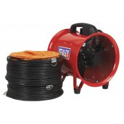 Sealey Portable Ventilator 250mm with 5mtr Ducting Model No-VEN250