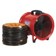 Sealey Portable Ventilator 300mm with 5mtr Ducting Model No-VEN300