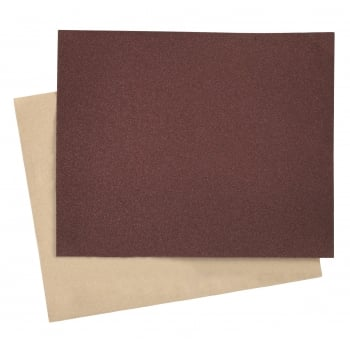 Sealey Production Paper 230 x 280mm 80Grit Pack of 25 : Model No.PP232880