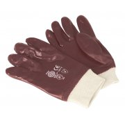 Sealey PVC Chemical Handling Gloves Knitted Wrist Pair Model No-SSP31