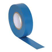 PVC Insulating Tape 19mm x 20mtr Blue Pack of 10 : Model No.ITBLU10