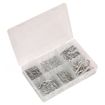 Sealey R-Clip Assortment 150pc : Model No.AB002RC
