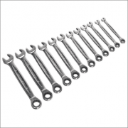 Sealey Ratchet Combination Spanner Set 12pc - Metric Model No-AK63922