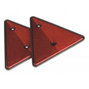Sealey Rear Reflective Red Triangle Pack of 2 Model No-TB17