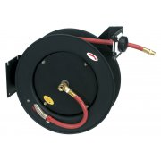 Sealey Retractable Air Hose Metal Reel 15mtr 10mm ID Rubber Hose Model No-SA841