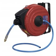 Sealey Retractable Air Hose Reel 12mtr 8mm ID TPU Hose Model No-SA90
