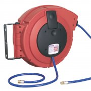 Sealey Retractable Air Hose Reel HD Mechanism 15mtr 8mm ID PU Hose Model No-SA894