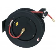 Sealey Retractable Air Hose Steel Reel 20mtr 10mm ID Rubber Hose Model No-SA85