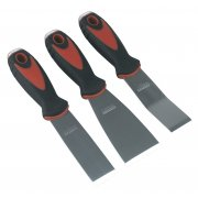 Sealey Rigid Blade Scraper Set with Hammer Cap 3pc Model No-AK523