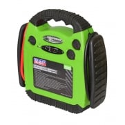 Sealey RoadStart© Emergency Power Pack 12V 900 Peak Amps Hi-Vis Green Model No- 22539