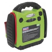 Sealey RoadStart© Emergency Power Pack with Air Compressor 12V 900 Peak Amps Model No- 22642