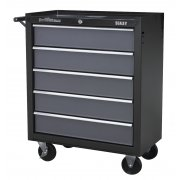 Sealey Rollcab 5 Drawer with Ball Bearing Runners - Black/Grey Model No-AP2505B