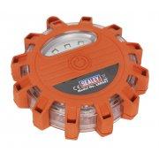 Sealey Rotating Warning Light 12 LED + 3 SMD Model No-LED041