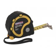 Sealey Rubber Measuring Tape 7.5mtr(25ft) x 25mm Metric/Imperial Model No-AK990