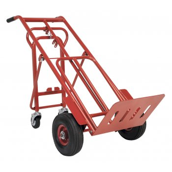 Sealey Sack Truck 3-in-1 with Pneumatic Tyre 250kg Capacity Model No-CST989