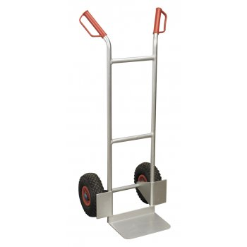 Sealey Sack Truck Pneumatic Tyres Aluminium 120kg Capacity Model No-CST979